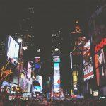 Reklame am Times Square