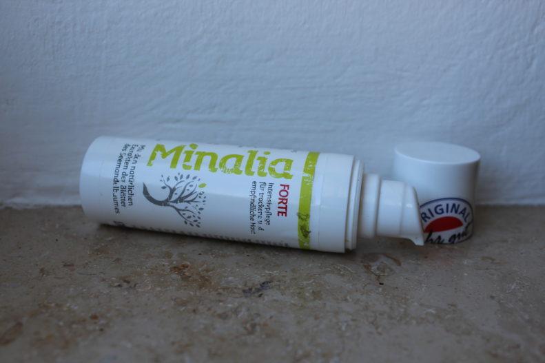 Testergebnis Minalia Creme Forte: Hilfe durch Naturkosmetik