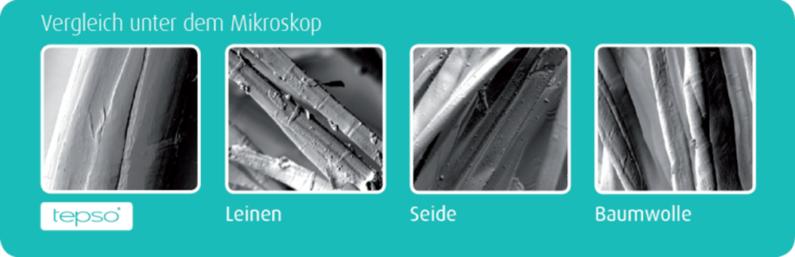 Tepso unterm Mikroskop