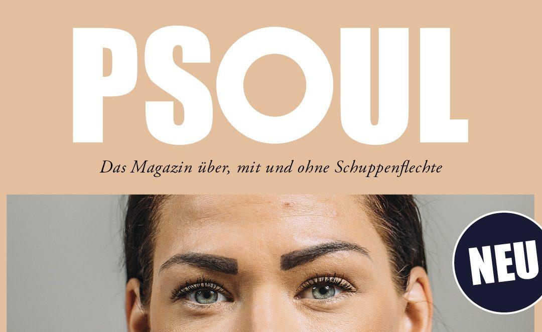 PSOUL – Das Magazin über, mit und ohne Schuppenflechte