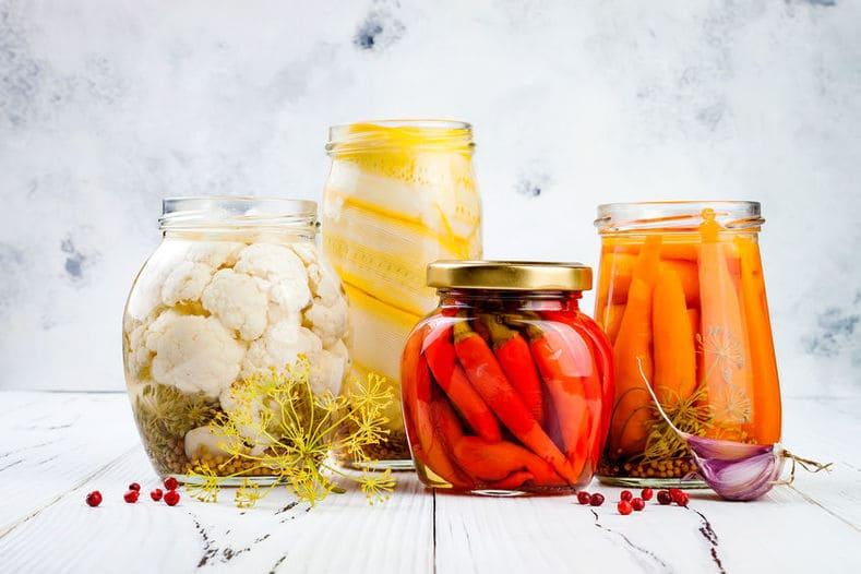 Fermentierte Lebensmittel für deinen Darm und deine Schuppenflechte