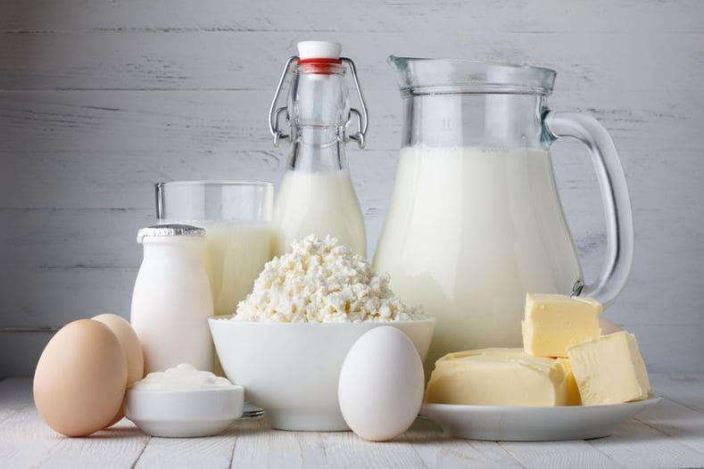 Psoriasis und Milch Farbenhaut