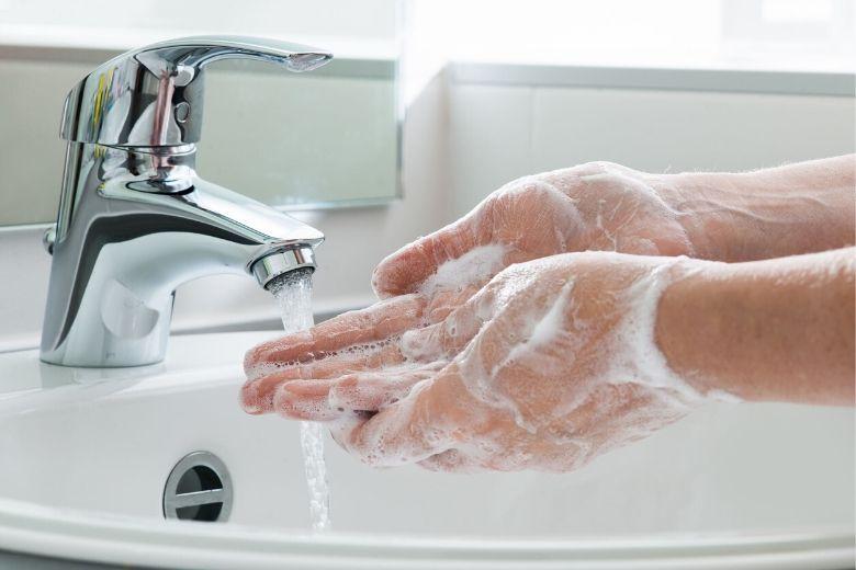 Hygiene Schuppenflechte Farbenhaut