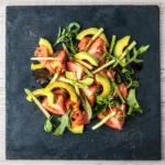 Rezept: Spargelsalat mit Avocado und Zitronen-Cashew-Dressing