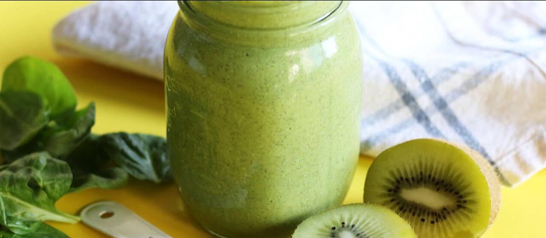 Rezept: Grüner Kiwi-Smoothie