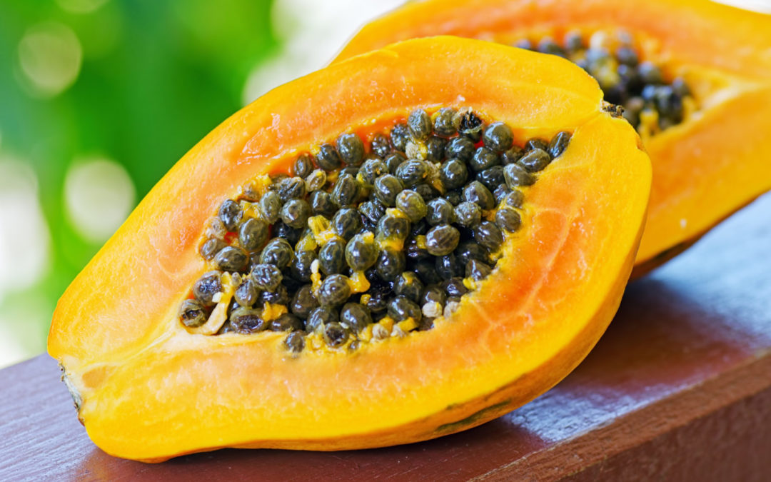 Rezept: Papaya-Banane-Peeling