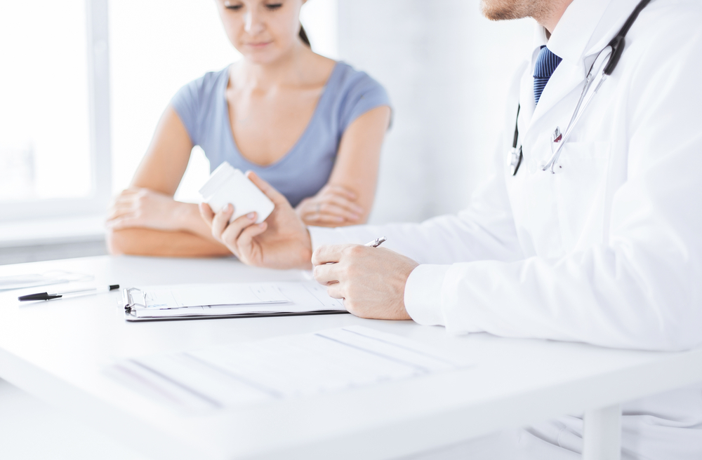Medikationsplan Arzt Patient Schuppenflechte