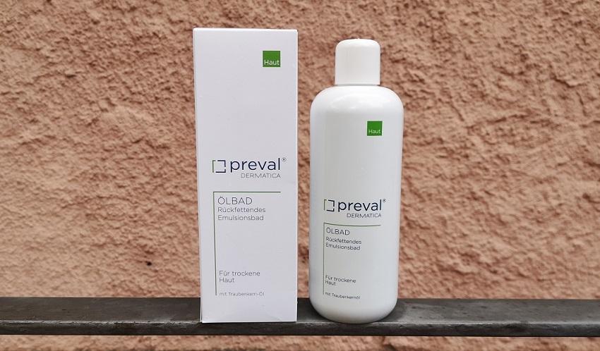 Produkttest preval Ölbad: Zusätzliche Hilfe für die Haut